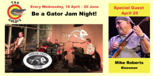 Be a Gator Jam Night! @ Harbour Street Fish Bar | Collingwood | Ontario | Canada