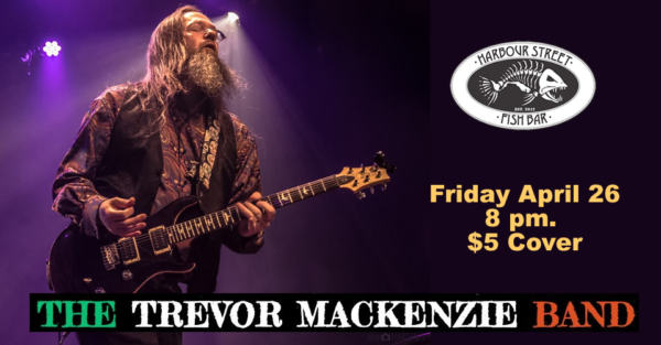 Trevor MacKenzie Band @ Harbour Street Fish Bar | Collingwood | Ontario | Canada