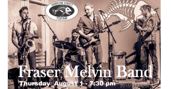 Fraser Melvin Band @ Harbour Street Fish Bar   Collingwood   Ontario   Canada