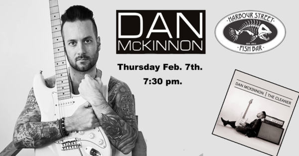 Dan McKinnon Band @ Harbour Street Fish Bar | Collingwood | Ontario | Canada