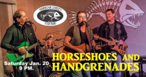 Horseshoes & Handgrenades @ Harbour Street Fish Bar | Collingwood | Ontario | Canada