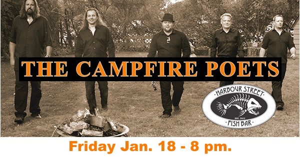 Campfire Poets Band @ Harbour Street Fish Bar | Collingwood | Ontario | Canada