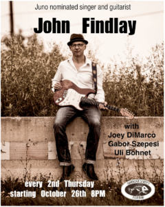 John Findlay Band @ Harbour Street Fish Bar | Collingwood | Ontario | Canada