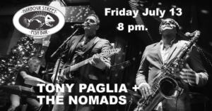 TONY PAGLIA + THE NOMADS @ Harbour Street Fish Bar | Collingwood | Ontario | Canada