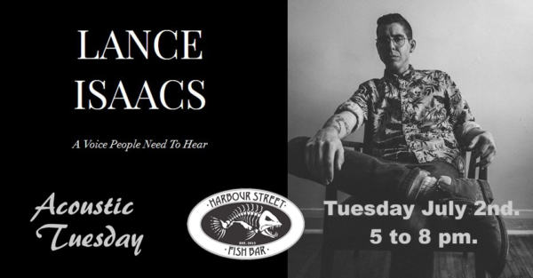 LANCE ISAACS Acoustic Tuesday @ Harbour Street Fish Bar | Collingwood | Ontario | Canada