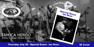 Ian Ross with Tamica Herod & The Harbour Street Band @ Harbour Street Fish Bar | Collingwood | Ontario | Canada