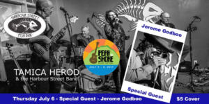 Jerome Godboo with Tamica Herod & The Harbour Street Band @ Harbour Street Fish Bar | Collingwood | Ontario | Canada