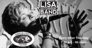 Lisa Hutchinson Band @ Harbour Street Fish Bar | Collingwood | Ontario | Canada
