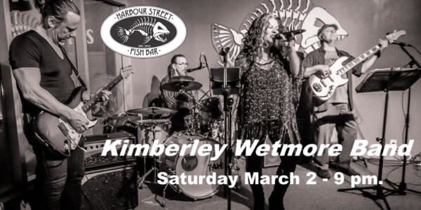 Kimberley Wetmore Band @ Harbour Street Fish Bar | Collingwood | Ontario | Canada