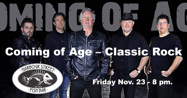 Coming Of Age @ Harbour Street Fish Bar   Collingwood   Ontario   Canada