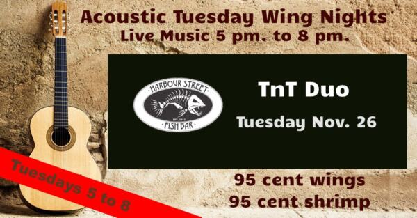 TnT Duo - Acoustic Tuesday @ Harbour Street Fish Bar | Collingwood | Ontario | Canada