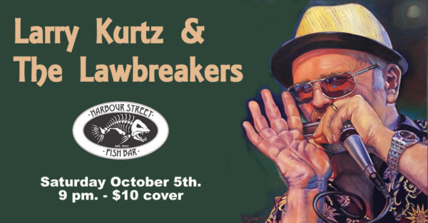 Larry Kurtz & The Lawbreakers @ Harbour Street Fish Bar | Collingwood | Ontario | Canada