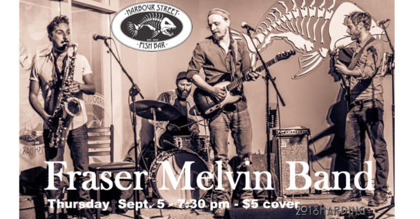 Fraser Melvin Band @ Harbour Street Fish Bar | Collingwood | Ontario | Canada