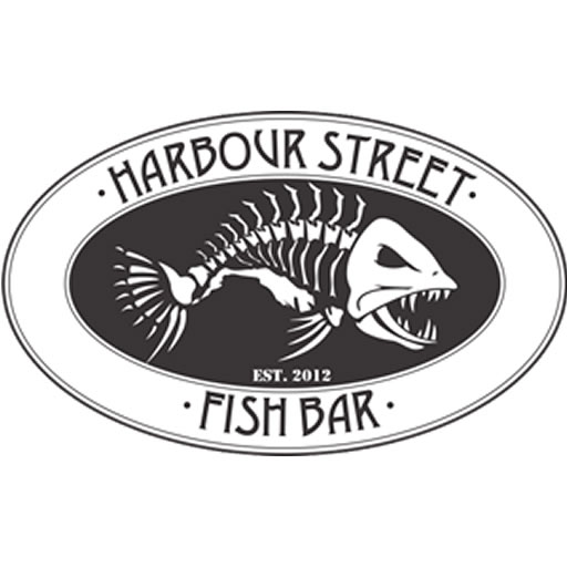 Harbour Street Fish Bar Retina Logo