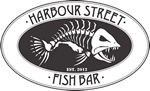 Harbour Street Fish Bar Sticky Logo