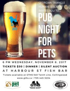 Pub Night For Pets @ Harbour Street Fish Bar
