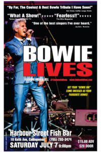 BOWIE LIVES featuring Michael Bell @ Harbour Street Fish Bar
