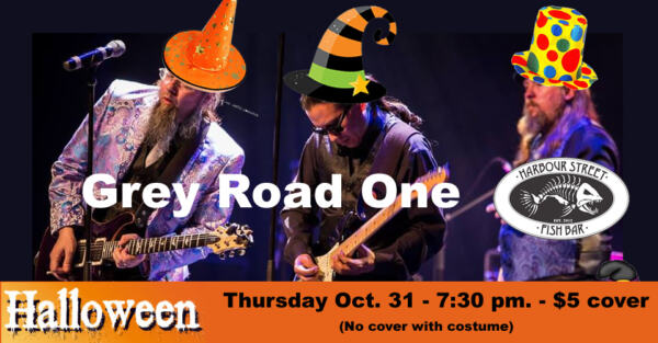 Halloween with Grey Road One @ Harbour Street Fish Bar