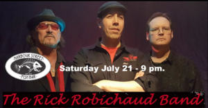The Rick Robichaud Band @ Harbour Street Fish Bar
