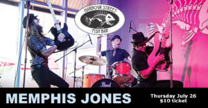Memphis Jones @ Harbour Street Fish Bar